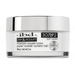 IBD Puder Akrylowy DIP&SCULPT Soft White 56g