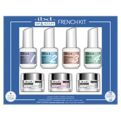 IBD Professional Dip & Sculpt French kit zestaw