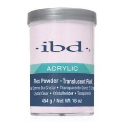 IBD Puder Akrylowy FLEX TRANSCULENT PINK 454g 16Oz