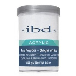 IBD Puder Akrylowy FLEX BRIGHT WHITE 454g / 16 Oz