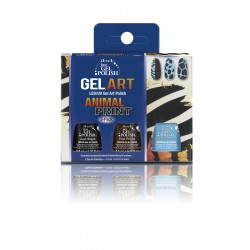 IBD Just Gel Polish Animal Print Gel Art 3-Pack