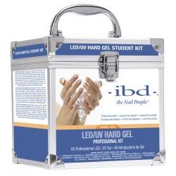 IBD Professional Gel Kit Zestaw LED/UV IBD Kuferek