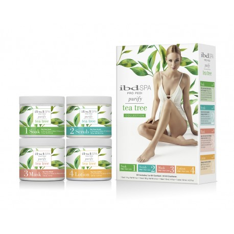 IBD SPA  Pro Pedi Purify Tea Tree 4-02088 KIT